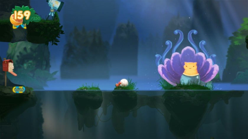 Yoku's Island Express Screenshot