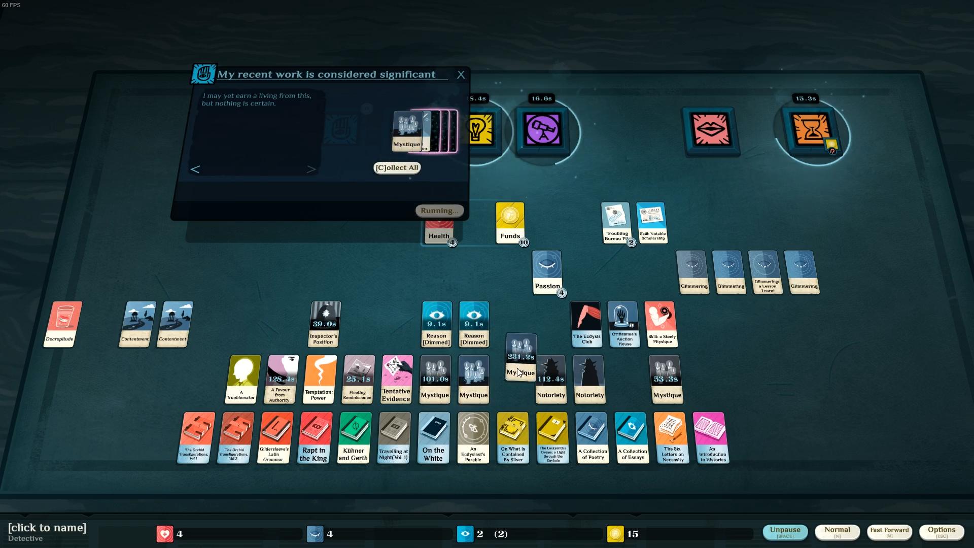 Cultist Simulator Gameplay