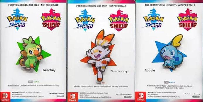 The Pokemon Starter Pins